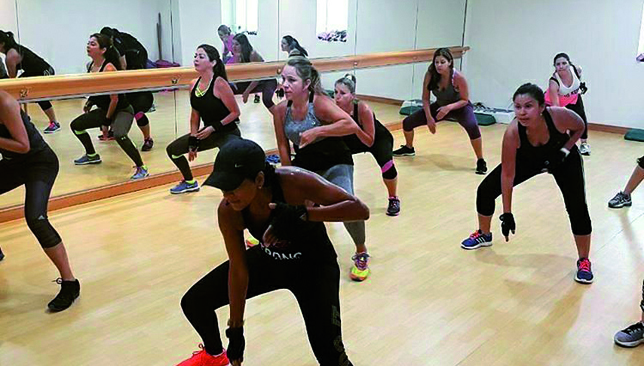 HIT the floor: STRONG Zumba gives you the perfect workout.