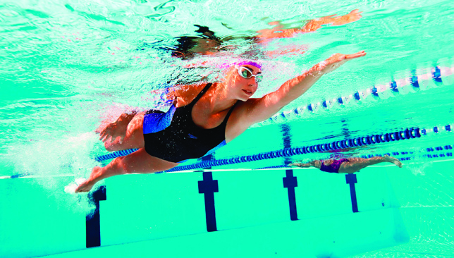 Making a splash: the UAE's swim scene caters for all types of activities.