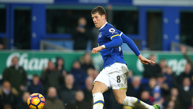 On the move from Goodison: Barkley.