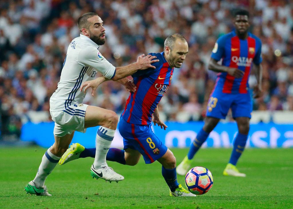 Legend could leave: Barcelona captain Iniesta.
