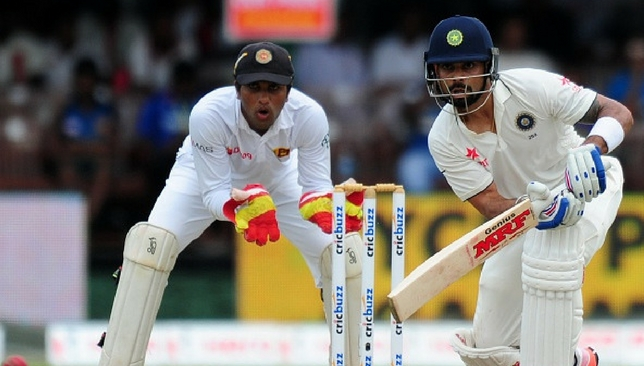 The last Test series between the two sides was won by India.