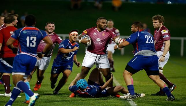 Doha in action against Jebel Ali Dragons last season