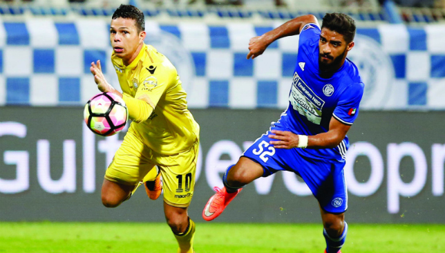 Staying put: Fabio De Lima in action for Al Wasl (Chris Whiteoak).