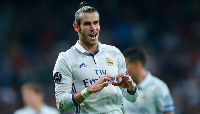 Massive coup: Gareth Bale