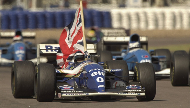 Damon Hill.