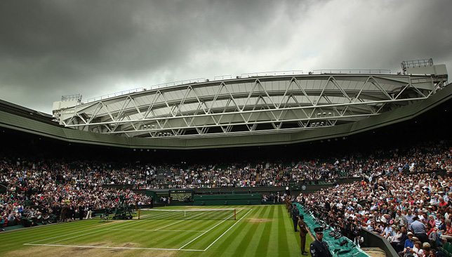 Wimbledon Centre Court has hosted more men's matches than women's this year.