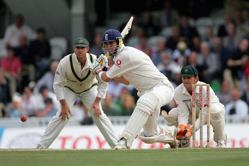 The trademark Pietersen sweeps were on display in his maiden Test