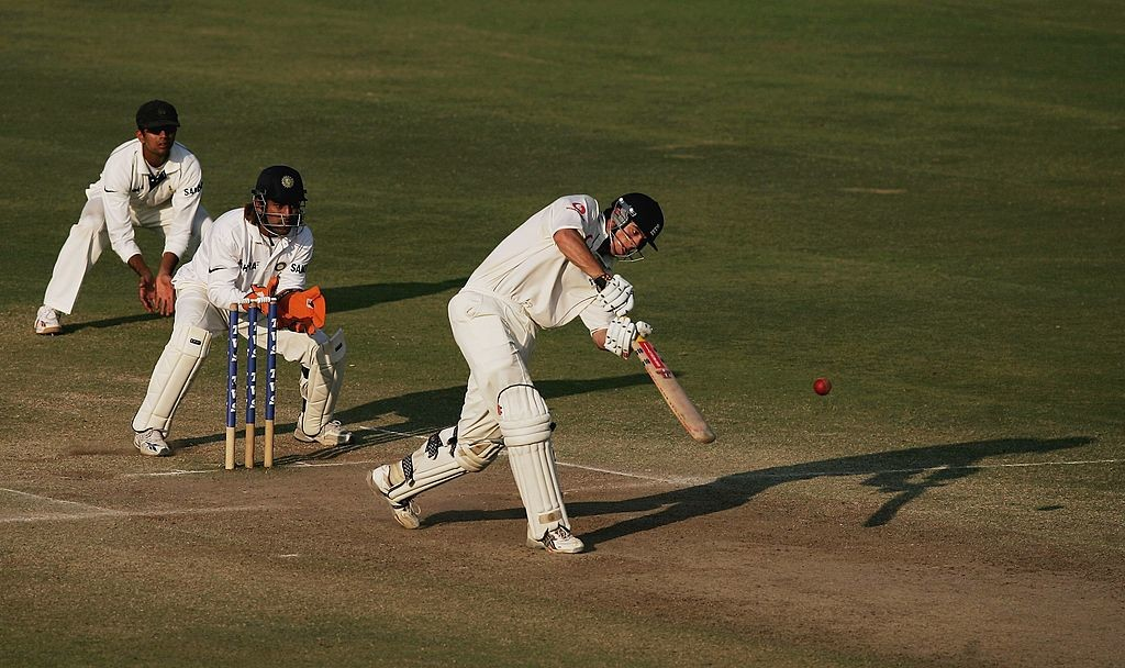 Cook displayed flawless technique on his maiden call-up.