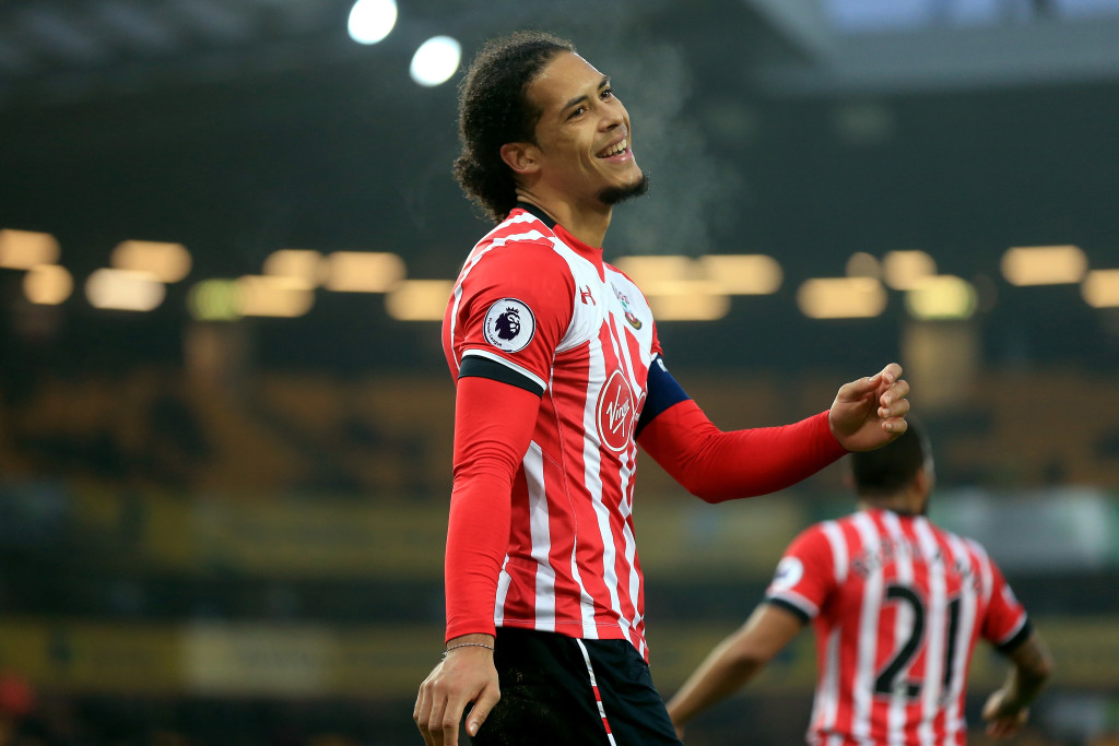 Virgil van Dijk (Getty).