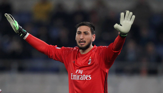 Committed to the San Siro: Donnarumma.