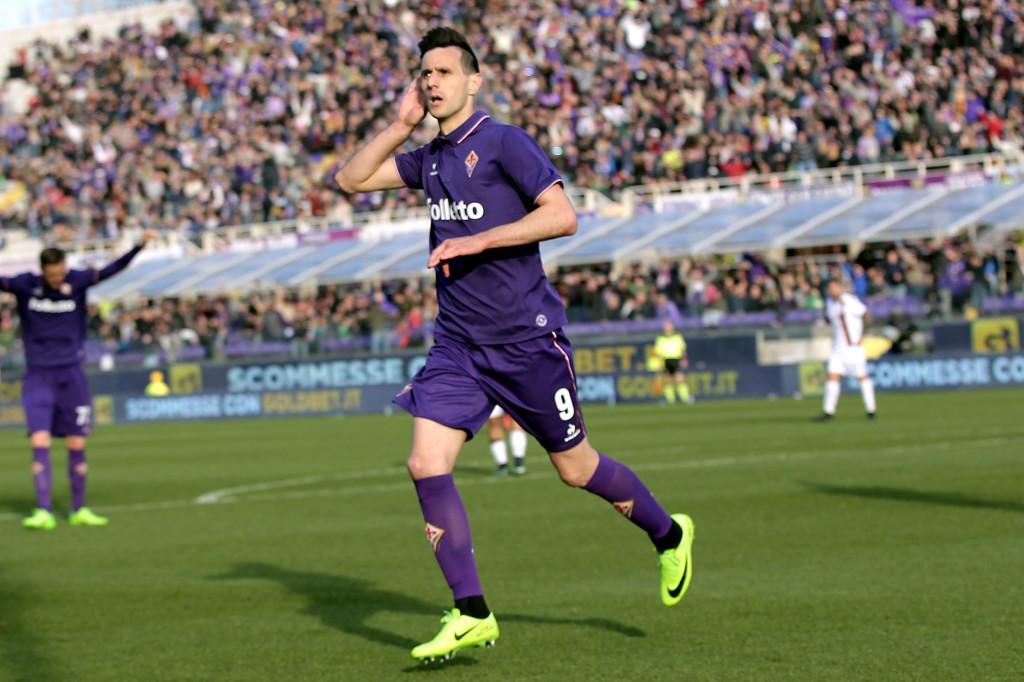 Nikola Kalinic celebrating against Fiorentina (Getty).