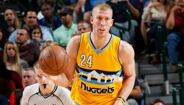 Mile High: Mason Plumlee. Picture: Getty Images.