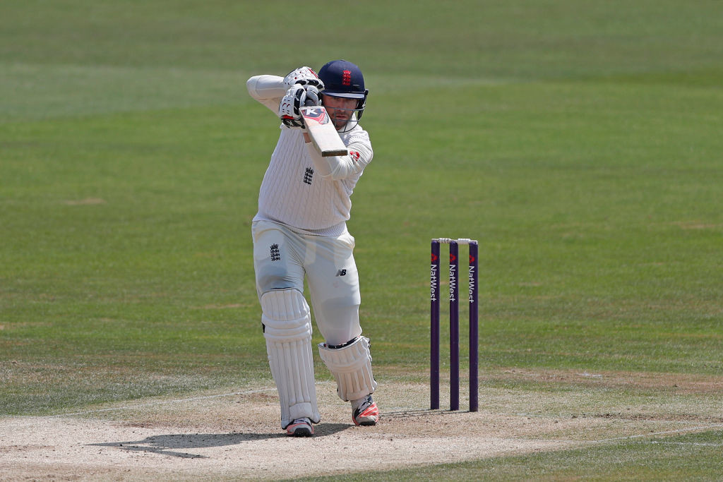 Next man up: Mark Stoneman has played for England Lions