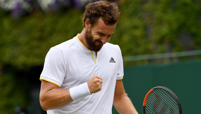 Finding his way back: Ernests Gulbis.