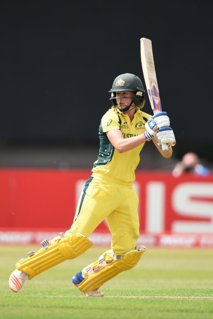 Australia's Ellyse Perry shone through with a quick 55.