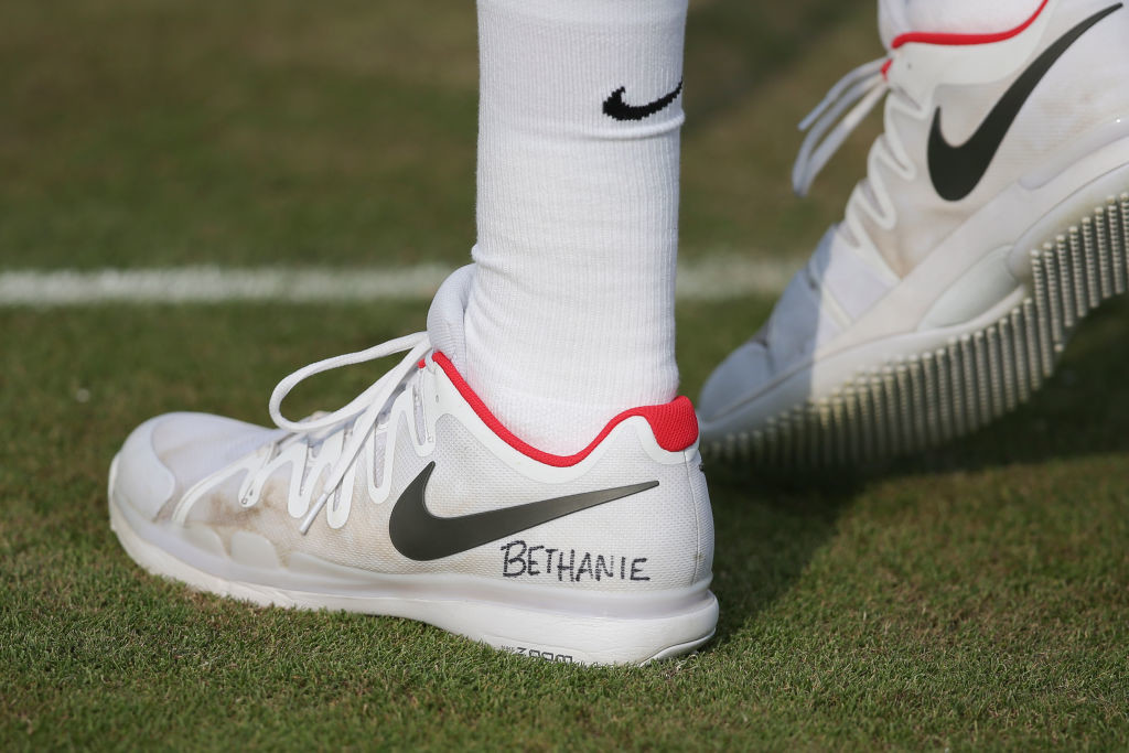 Jack Sock paid tribute to Bethanie Mattek-Sands.