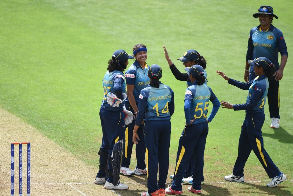 A spirited bowling effort from Sri Lanka scripted their first victory of the tournament.