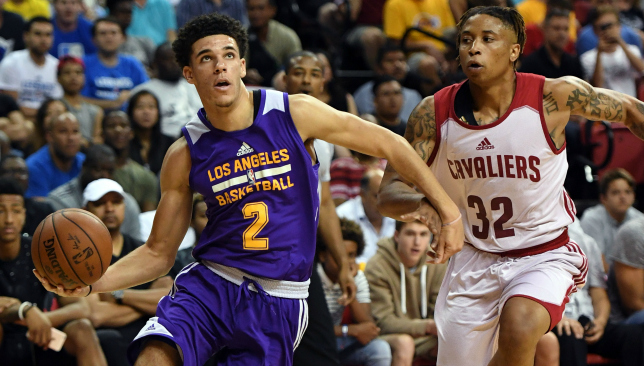 On the Ball: Lonzo Ball. Picture: Getty Images.