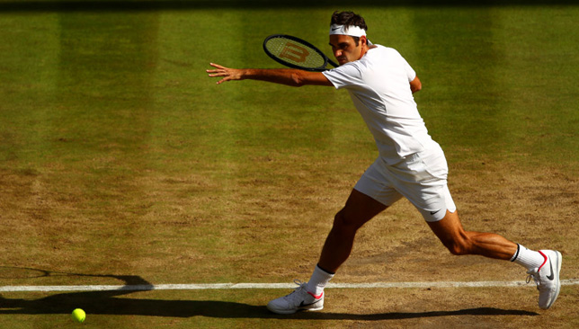 Federer Rolls to 12th Career Wimbledon Semifinal