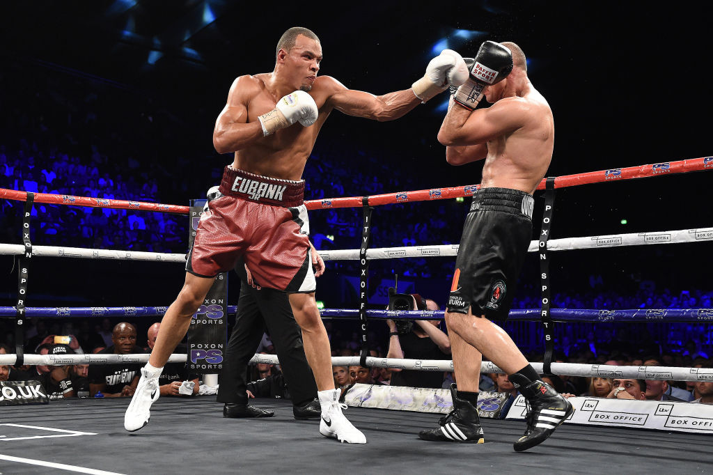 Chris Eubank Jr. beat Arthur Abraham in the Wembley stadium.