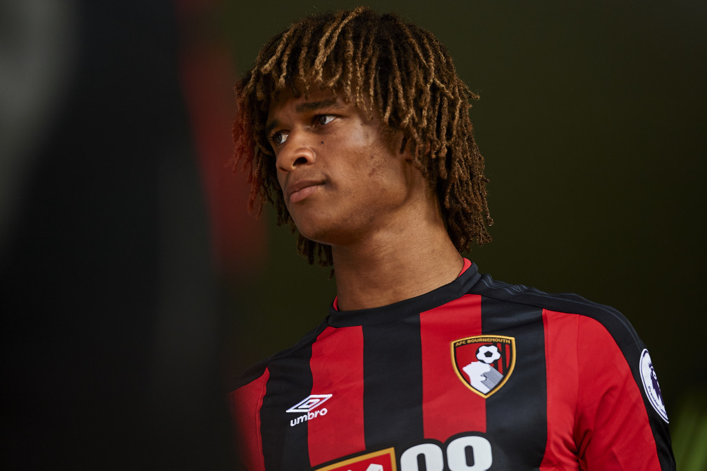 MARBELLA, SPAIN - JULY 15: Nathan Ake of AFC Bournemouth looks on during a Pre Season Friendly match between AFC Bournemouth and Estoril Praia at the Marbella Football Center on July 15, 2017 in Marbella, Spain. (Photo by Aitor Alcalde/Getty Images)