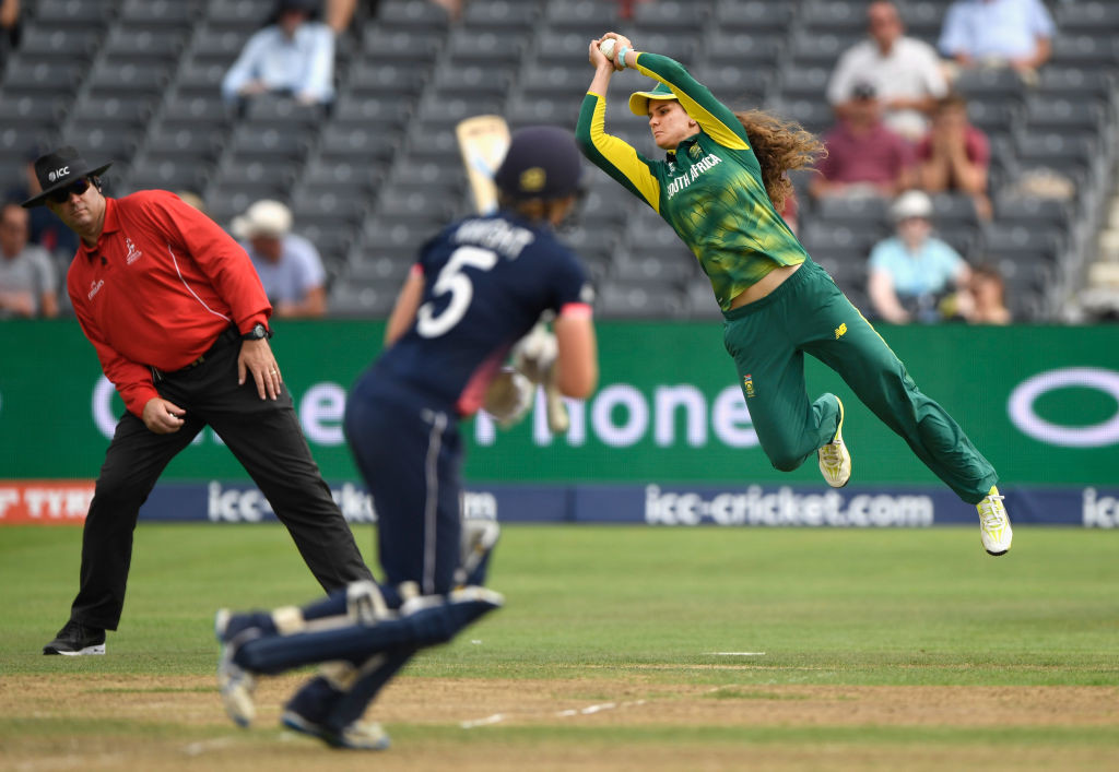 Wolvaardt pulled off a stunning catch to dismiss Heather Knight.