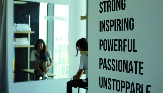 Words to live by: Motion Cycling hopes to instill these qualities in visitors