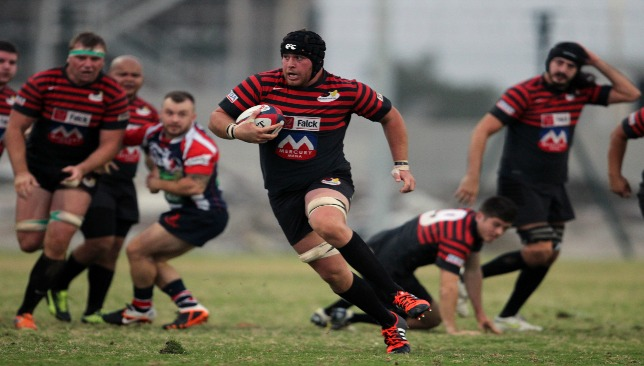 Botes during his days with Sarries