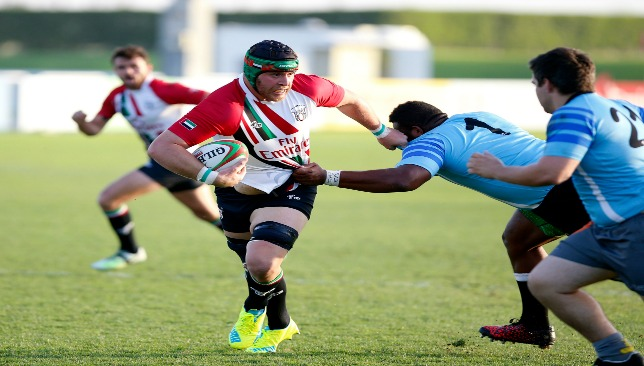 Botes in action for the UAE against the UAE Conference Baa Baas