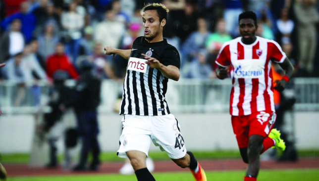 Kingdom's calling: Leonardo in action for Partizan Belgrade (Getty).