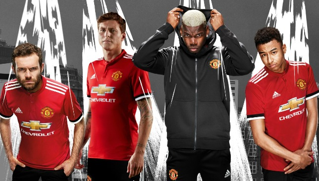 Manchester United Reveal 2017-18 Home Kit Ahead of Pre-Season Tour