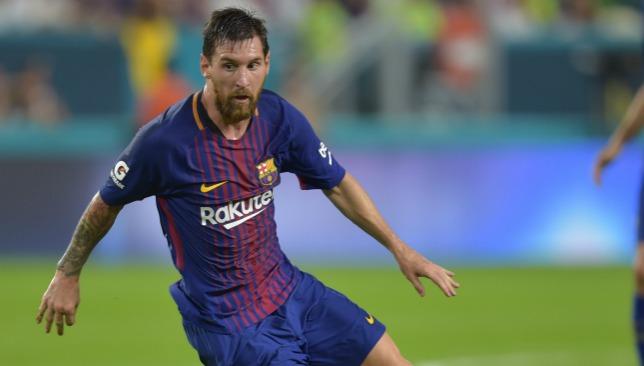 Main man: Messi.