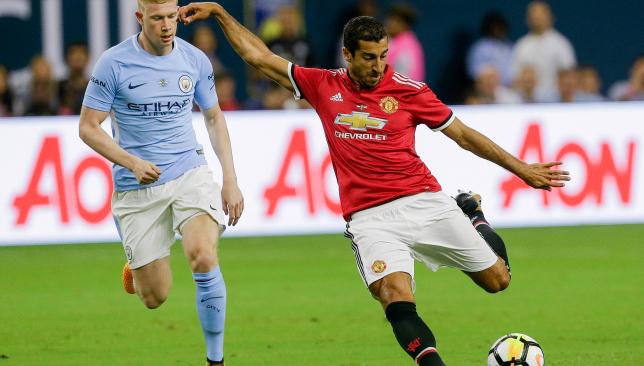 Henrikh Mkhitaryan continued his impressive summer for United