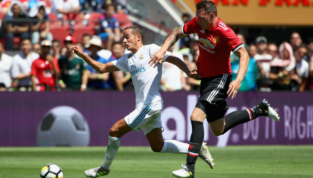 Phil Jones impressed against Real Madrid