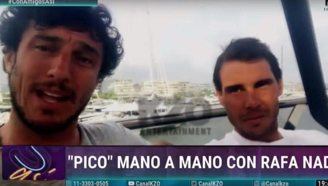 BFFs: Pico and Rafa.