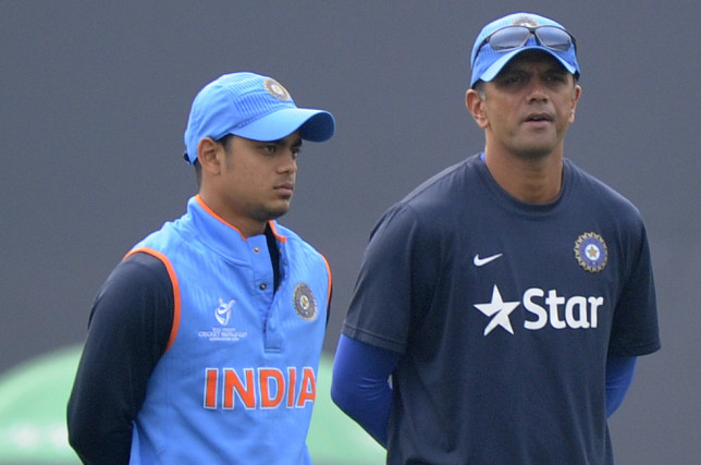 Rahul Dravid is the India A and U19 team coach.