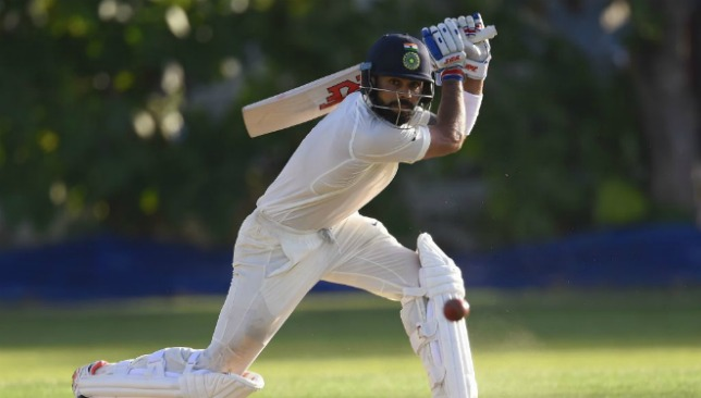 Virat Kohli looked in good touch during his half century.
