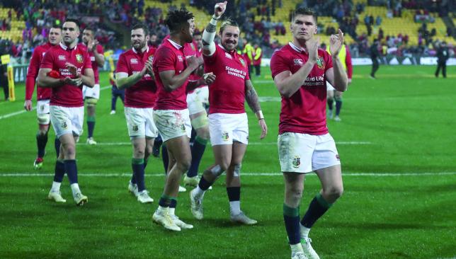 2017 British And Irish Lions Vs New Zealand Rugby Third Test