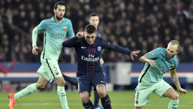Josep Maria Bartomeu: 'Paris Saint-Germain unwilling to sell Marco Verratti'