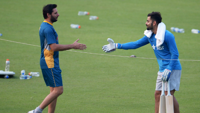 Afridi thanks Kohli for donating bat