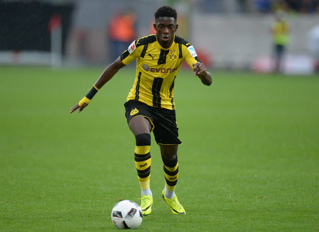 Dortmund suspend Dembele indefinitely