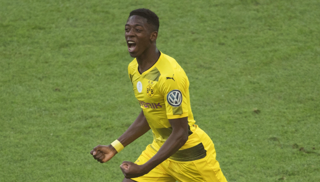 Dortmund ace Dembele has sparked rumours he's on the move