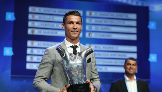 Ronaldo beats Messi and Buffon to UEFA Best Player in Europe award