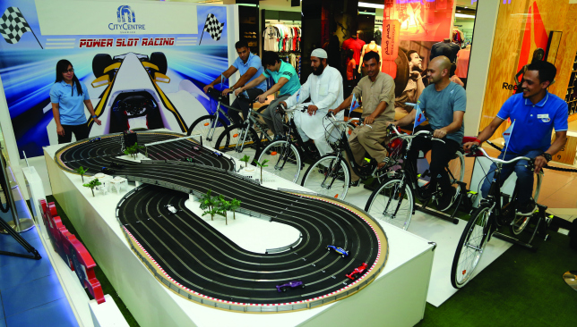 On track: Join the Pedal Power challenge.