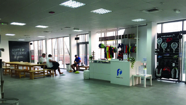 Manic about padel tennis: The sport is played at Sportsmania, located in Dubai's JLT area.
