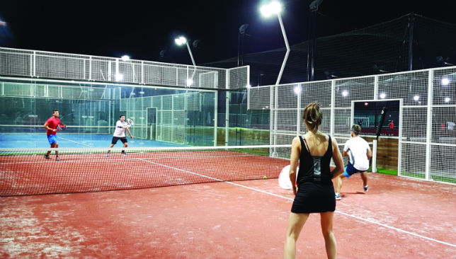 Padel tennis is catching on in the UAE thanks to Sportsmania.