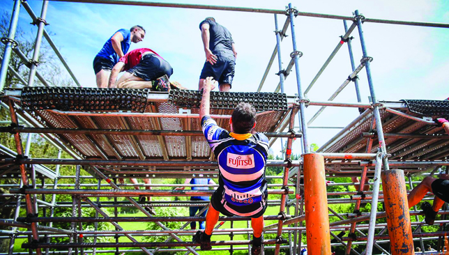 Teamwork makes the dream work: Tough Mudder is both a collective and individual effort.
