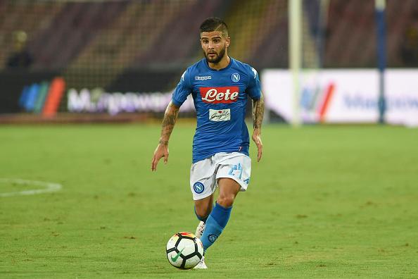 Napoli attacker Lorenzo Insigne