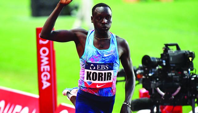 Emmanuel Korir.