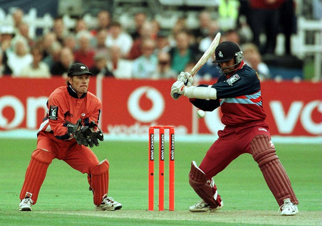 Dravid re-discovered his form during his time with Kent.